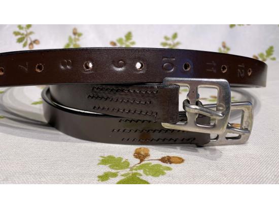 Acorn Saddlery Youths Stirrup Leathers
