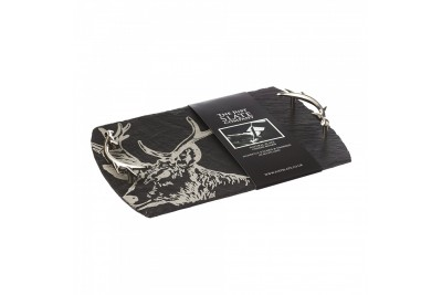 Just Slate Medium Slate Stag Serving Tray