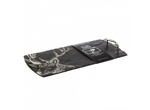 Just Slate Large Stag Serving Tray