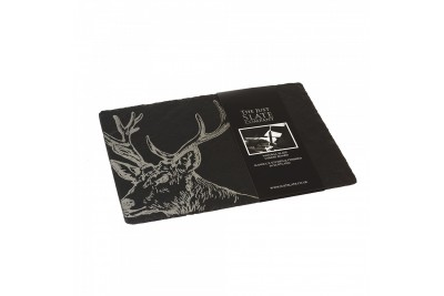 Just Slate Stag Cheese Board (with knife)