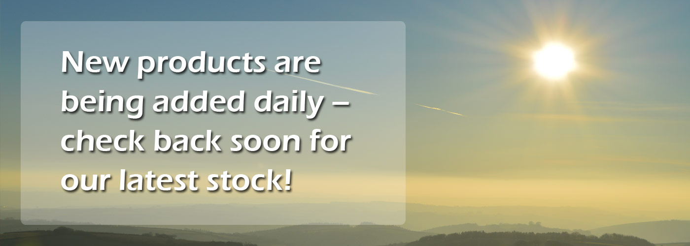 New products are being added daily