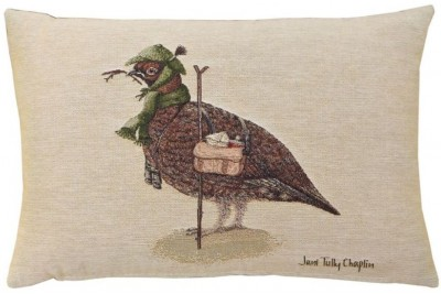 Henry Grouse Woven Cushion