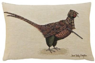 Phillip Pheasant Woven Cushion