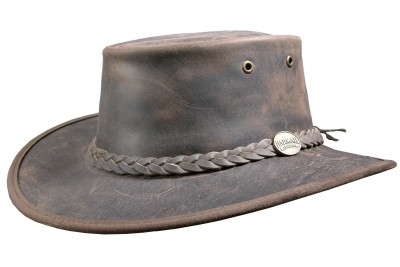 Barmah Bronco Leather Hat