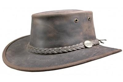 Barmah Bronco Leather Hat