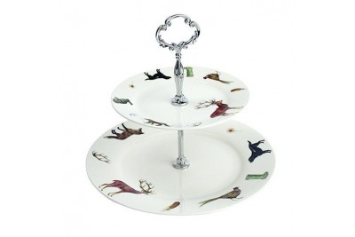 Country Animals Cake Stand