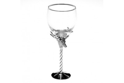 Stag Wine Glass