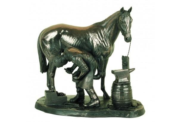 Blacksmith Bronze Ornament