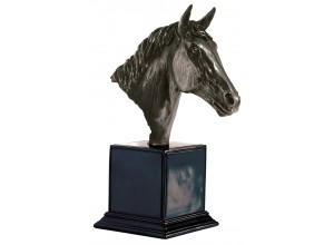 Horses Head Bronze Ornament - Large