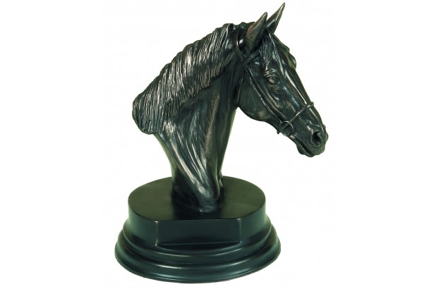 Horses Head Bronze Ornament