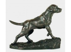 Labrador Bronze Ornament