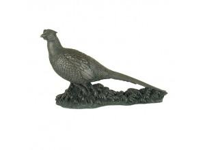 The Pheasant Bronze Ornament