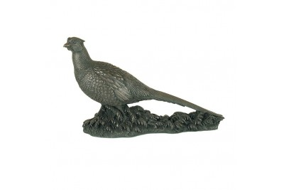 The Pheasant Bronze Ornament