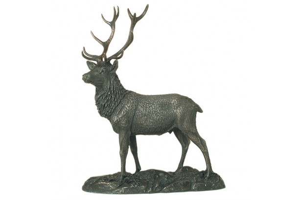 The Stag Bronze Ornament