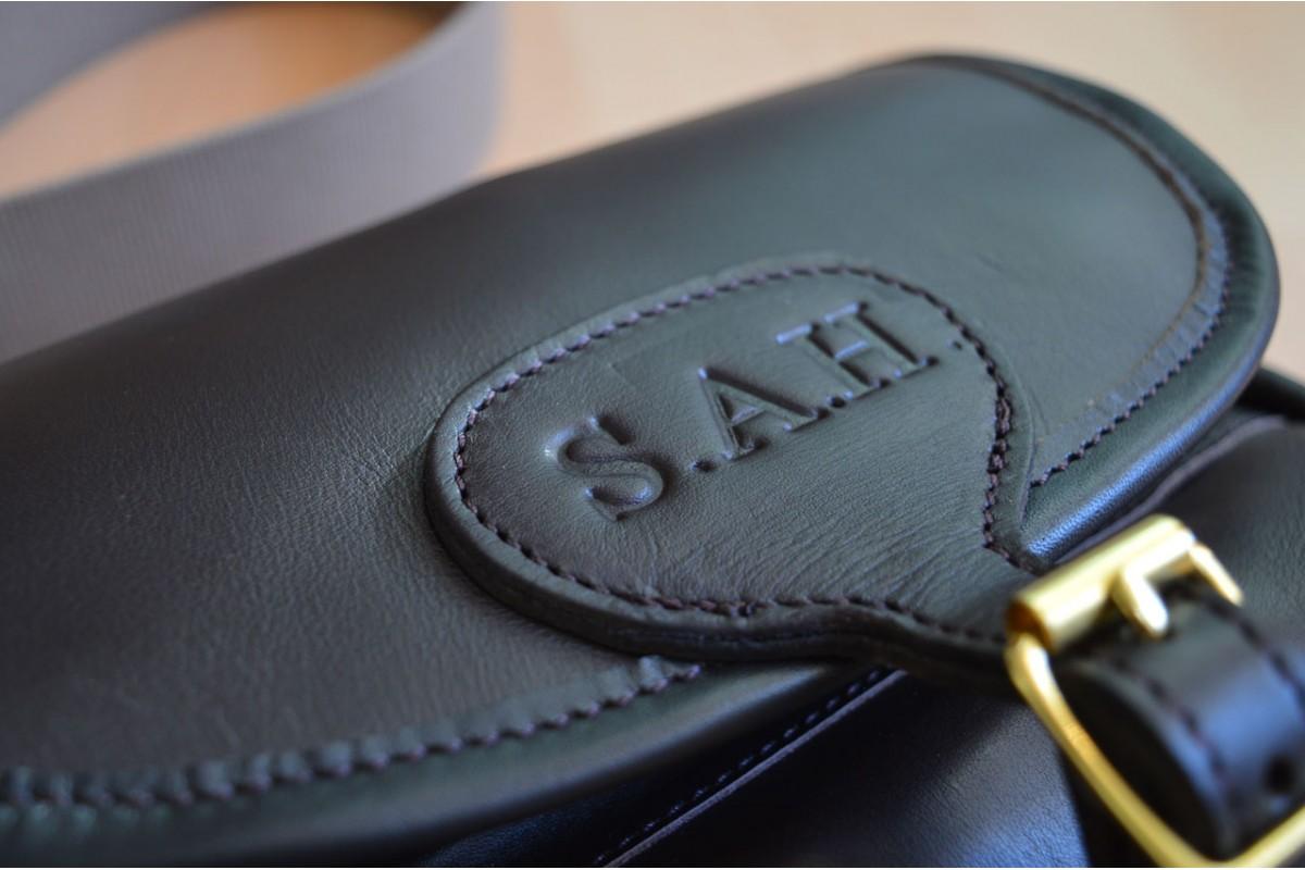 Bespoke Leather Embossing Service Acorn Saddlery