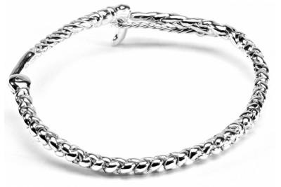 Hiho Sterling Silver Whip Bracelet