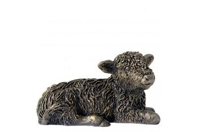 Bronzed Highland Calf