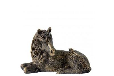 Bronzed Shetland Pony