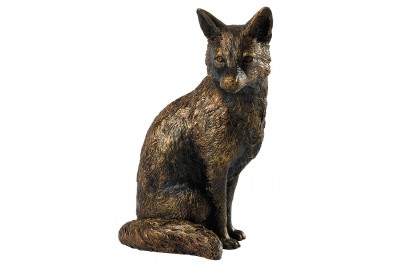 Bronzed Sitting Fox