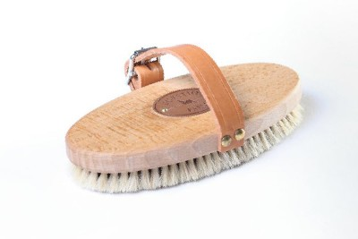 Borstiq Body Brush - Adjustable Leather Strap