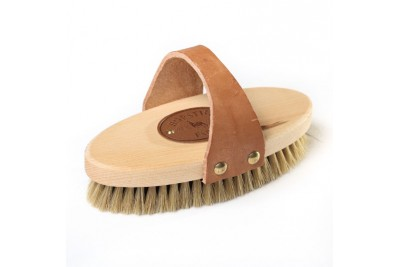 Borstiq Body Brush - Leather Handle