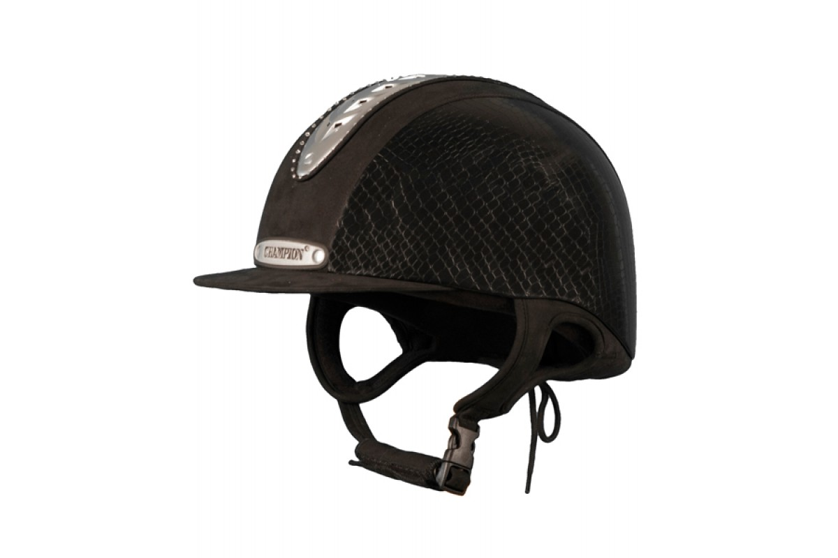 Champion Ventair Grand Prix velvet hat-RRP £ 145.00