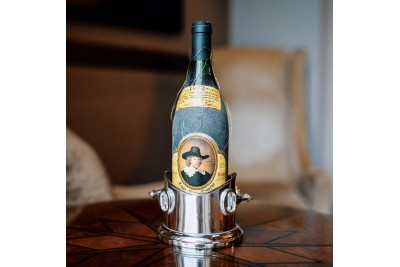 Culinary Concepts Horse Bit Wine Bottle Holder