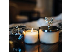 Culinary Concepts Stag Wax Filled Scented Candle
