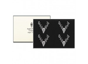 English Pewter Company Stag Candle Pins - Set Of 4