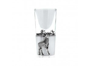English Pewter Company Stag Shot Glass