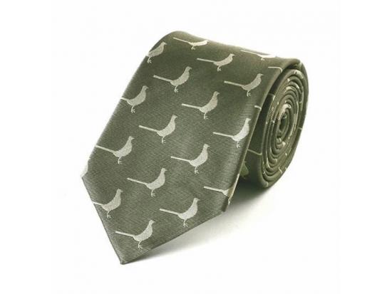 Green Standing Pheasant Tie