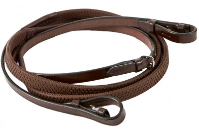 Jeffries Wembley Nylon Lined Rubber Grip Reins