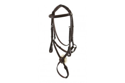 Jeffries Wembley Pro Bridle - Mexican Grackle