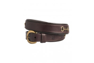 Noble Outfitters On The Bit Leather Belt
