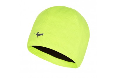 Sealskinz Waterproof Beanie Hat - Hi Vis