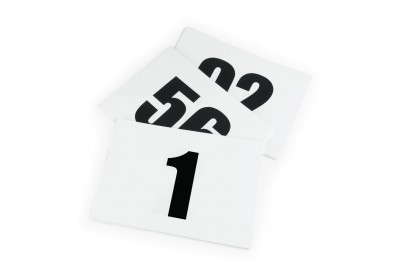 Numbers For Shires Number Bib