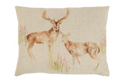 Deer Couple Cushion