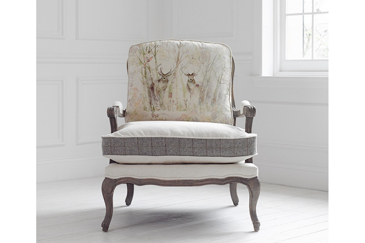 Voyage Maison Florence Armchair Enchanted Forest Acorn