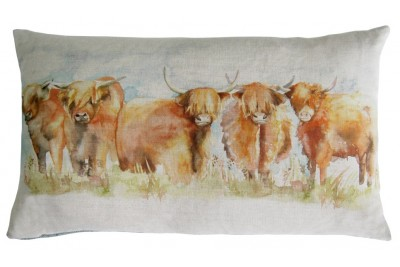 Highland Cattle Cushion