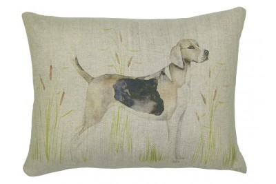 Hunting Hound Dog Cushion