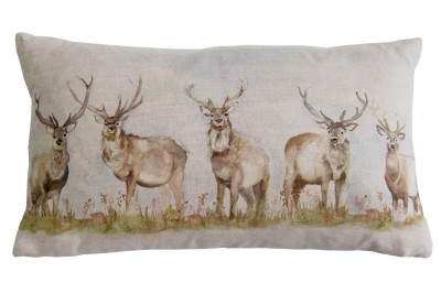 Moorland Stag Cushion