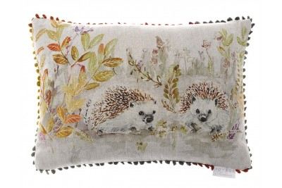 Mr & Mrs Hedgehog Cushion