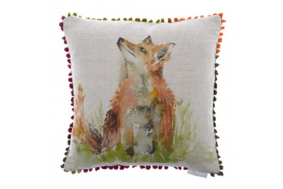Mr Tod Fox Cushion