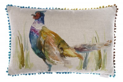 Ring Neck Pheasant 2 Cushion