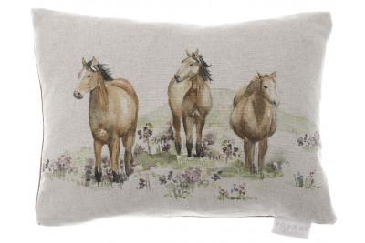 Rosemoor Horse Cushion