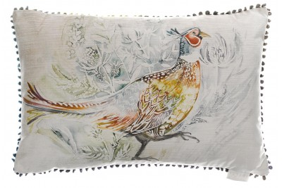 Running Pheasant Cushion