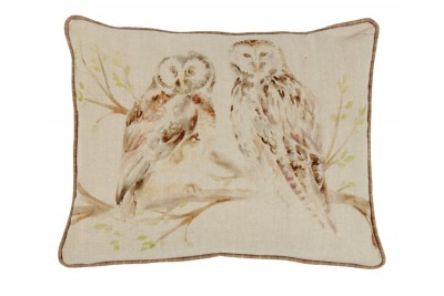 Wise Owls Cushion