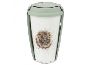 Wrendale Travel Mug - Hedgehog Awakening