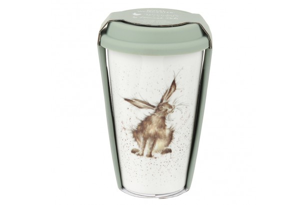 Wrendale Travel Mug - Good Hare Day