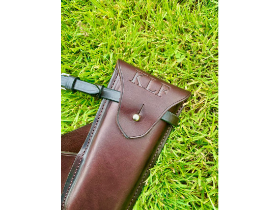 Wire Cutters And Leather Case For Saddles